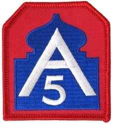 Military Patch: 5th Army