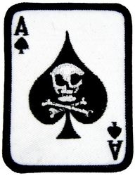 Military Patch: Vietnam Death Card