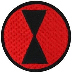 Military Patch: 7th Infantry Division