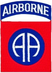 Military Patch: 82nd Airborne Division