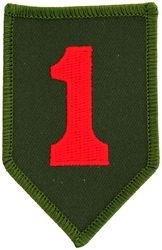 Military Patch: 1st Infantry Division