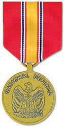 Military Medal: National Defense Service