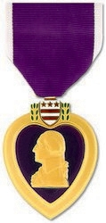 Military Medal: Purple Heart