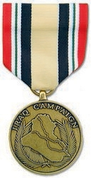 Military Medal: Iraq Campaign
