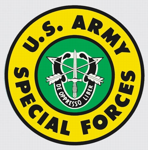 Decals: U.S. Army Special Forces