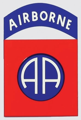 Decals: U.S. Army 82nd Airborne
