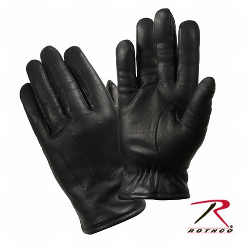 Cold Weather Leather Police Dress Gloves