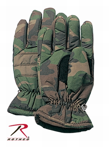Hunting Gloves-Woodland