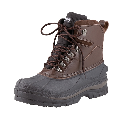 Cold Weather Hiking Boot-Brown