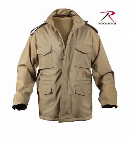 M-65 Soft Shell Tactical Jacket-Coyote Brown