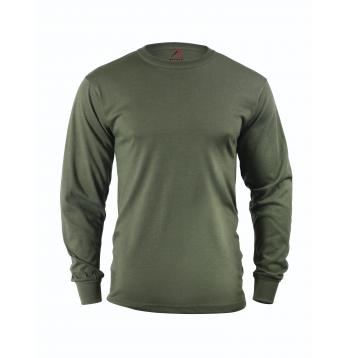 Long Sleeve Tee: Olive Drab
