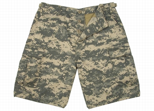 BDU Combat Shorts: Army Digital