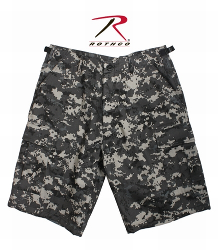BDU Combat Shorts: Subdued Urban Digital