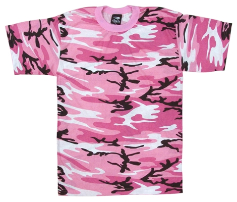 Militaryandpolicesupply net kids camouflage t shirt pink camo