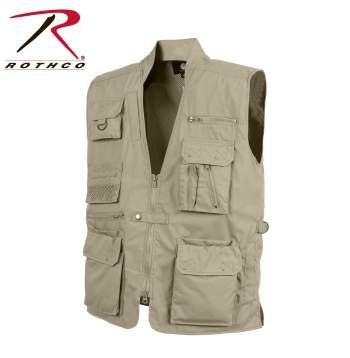 Plainclothes Concealed Carry Vest: Khaki