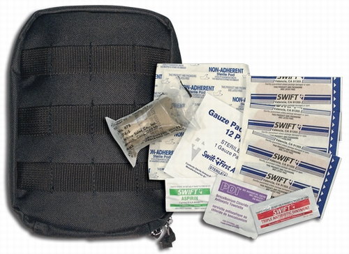 First Aid Kit: M.O.L.L.E Tactical Black