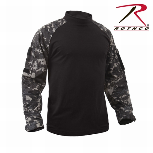 Military Combat Shirt- Subdued Urban Digital