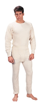 Extra Heavyweight Thermal knit Underwear