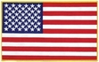 Military Patch: U. S. Flag  Large