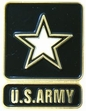 Military Pin: U.S. Army Star