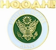 Military Pin: U.S. Army Hooah!