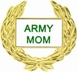 Military Pin: U.S. Army Mom