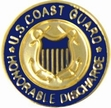 Military Pin: U.S. Coast Guard Hon Disch