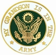 Military Pin: U.S. Army Grandson