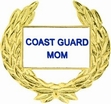 Military Pin: U.S. Coast Guard Mom