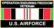 Military Pin: U.S. Air Force Afganistan Vet