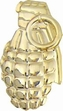 Military Pin: U.S. Pineapple Grenade Gold