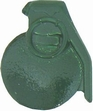 Military Pin: U.S. Baseball Grenade Green