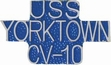 Military Pin: U.S. Navy USS Yorktown