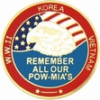 Military Pin: U.S. POW/MIA Remember