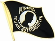 Military Pin: U.S. POW/MIA Blk Flag