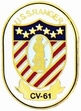 Military Pin: U.S. Navy USS Ranger Oval