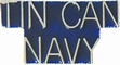 Military Pin: U.S. Navy Tin Can