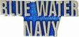Military Pin: U.S. Navy Blue Water