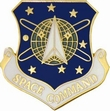Military Pin: U.S. Air Force Space Cmd