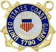 Military Pin: U.S. Coast Guard Blue