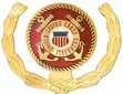 Military Pin: U.S. Coast Guard Wreath