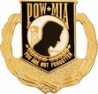 Military Pin: U.S. POW/MIA Wreath