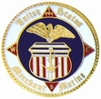 Military Pin: U.S. Coast Guard Merchant Marine