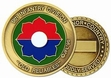 Challenge Coin: 9th Inf. Div.