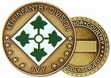 Challenge Coin: 4th Inf. Div.