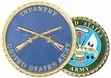 Challenge Coin: USA Inf.