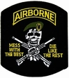 Military Patch: Airborne Mess with the Best