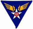 Military Patch: 12th Air Force