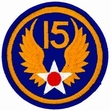 Military Patch: 15th Air Force