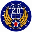 Military Patch: 20th Air Force